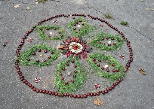 Natuur Mandala Maken Blog Alle Kleuren Van De Herfst BSO Buiten
